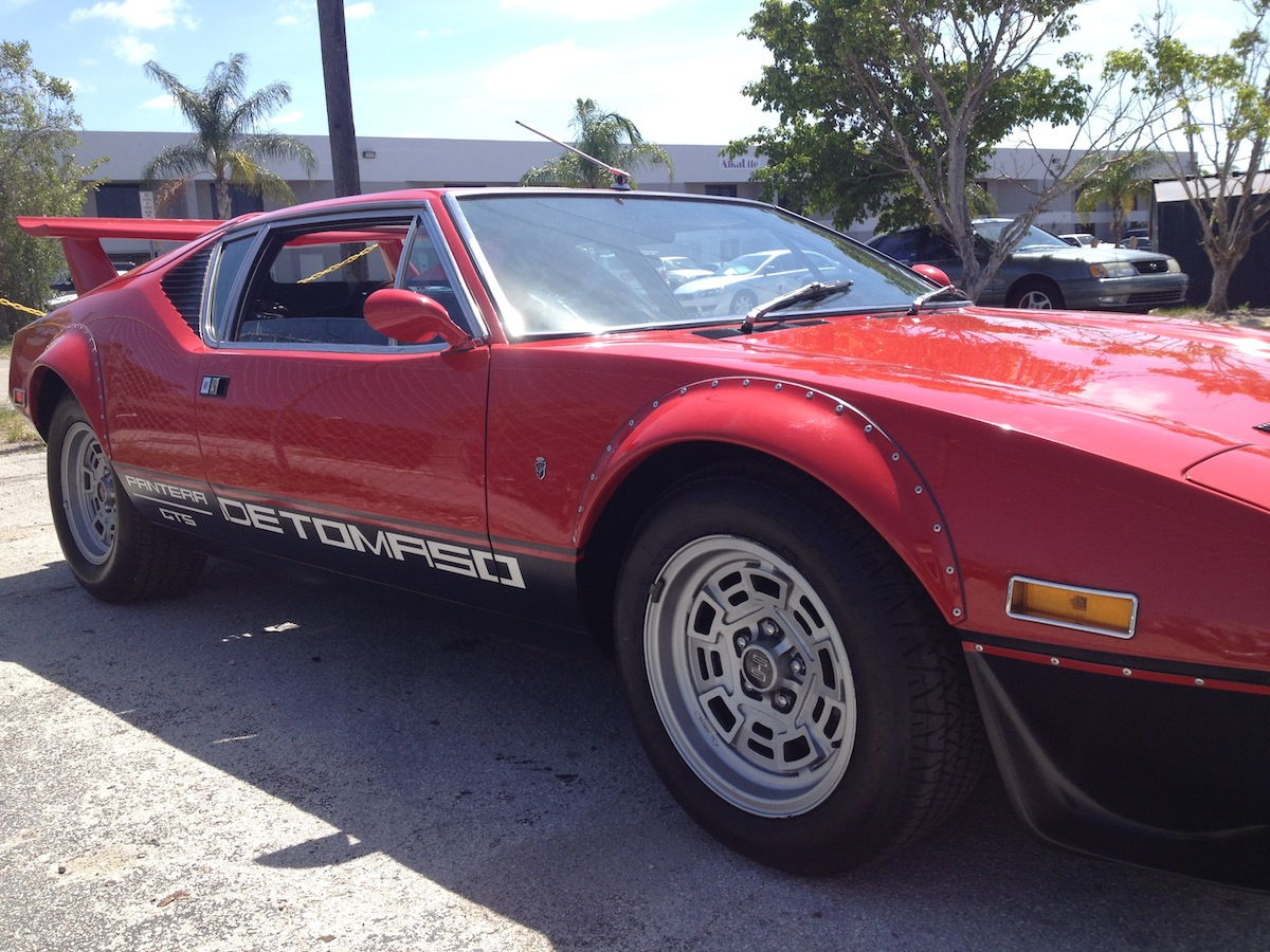 1 of 1. Built for a US Senator by DeTomaso. WITH factory BUILD SHEETS.