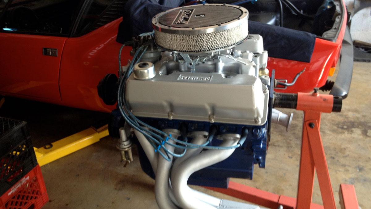 Pantera – engine ready