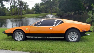 Pantera – Original paint orange '74 Sold to Italy