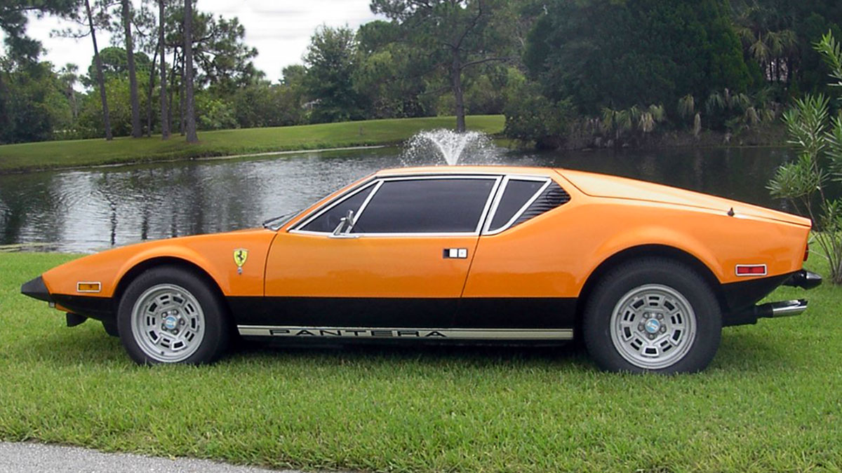 Pantera – Original paint orange '74