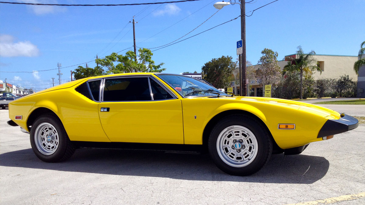 Pantera – fresh restoration '74. Gorgeous. For sale.