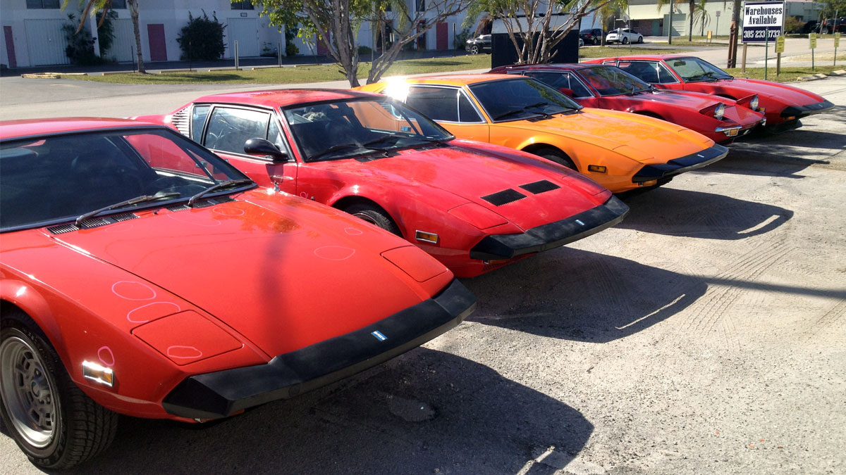 Pantera Cars – Out Front