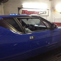 DeTomaso Pantera Dyno Run at Sharkeys