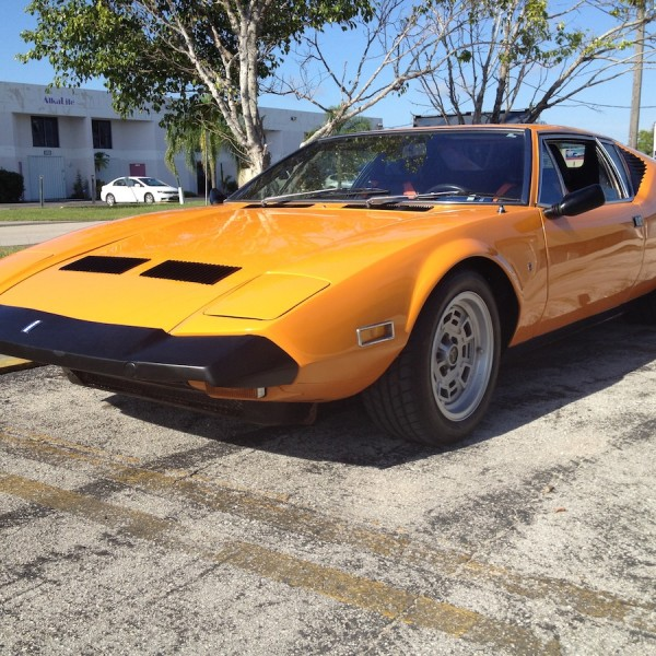 1972 Florida Orange – DeTomaso Pantera