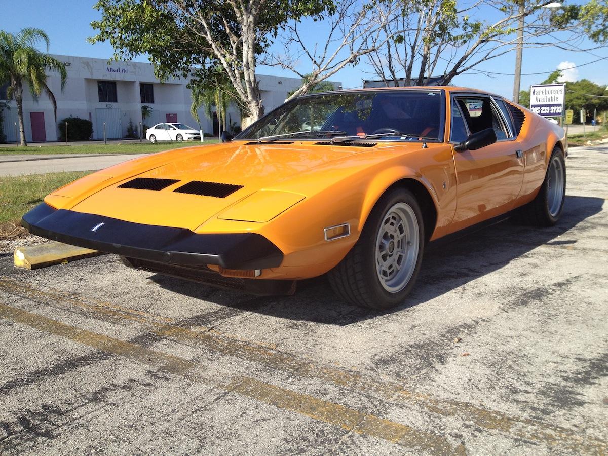 Pantera Project For Sale >> DeTomaso Pantera - Miami Pantera Parts, Sales & Services | 1972 Florida Orange – DeTomaso ...