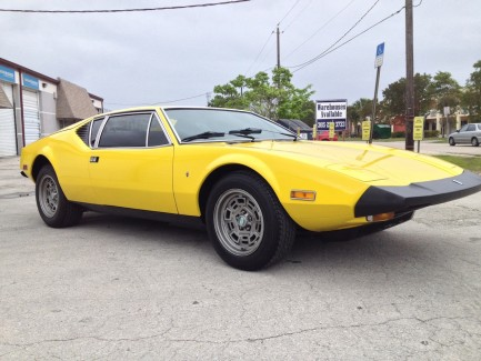 1974 Fresh Restoration – DeTomaso Pantera Car