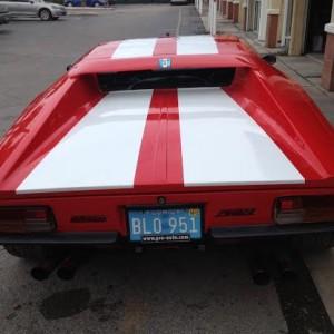 1975 GTS DeTomaso Pantera Car