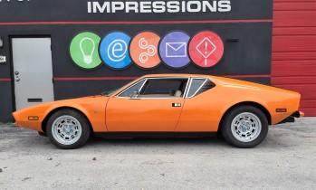 1973 Pantera Factory Orange